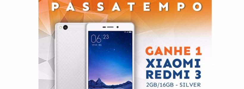 Passatempo Jobers - Xiaomi Redmi 3 - 16GB - 2GB - Silver